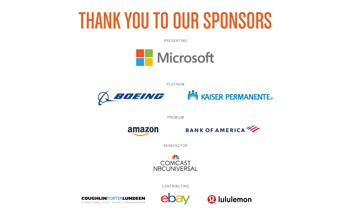 Thanks to our many STEM Summit sponsors